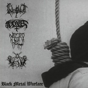 Black Metal Warfare - Intempestus/Antares/Necrohell/Vent EP