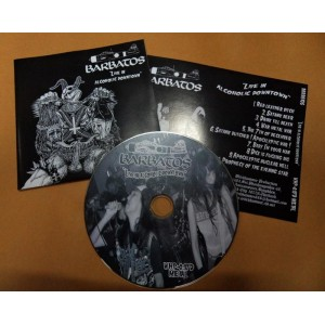 Barbatos (Jap) - Live in Alcoholic Downtown CD