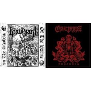 """Graveyard (Esp) / Crucifyre (Swe) - Split 7"""" EP"""