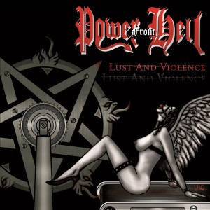 Power from Hell (Bra) - Lust and Violence CD