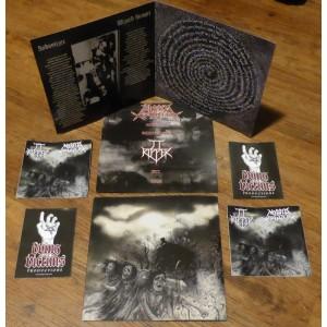 "JT Ripper / Morbid Panzer (Ger) - Revenge of the Morbid Ripper 7"" EP"