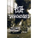 Dishonoured & Nyte Light - s/t Split TAPE
