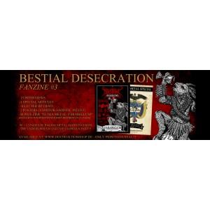 Bestial Desecration Fanzine 3 + Bonus ZINE & Poster